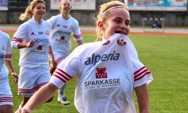 Calcio femminile in lutto: è morta la 19enne Verena Erlacher