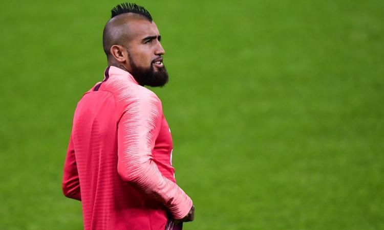 Inter, passi avanti per Vidal
