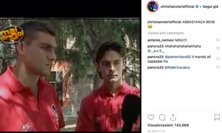 Vieri, VIDEO di 'Mai dire Gol' su Instagram: che risate con Inzaghi!