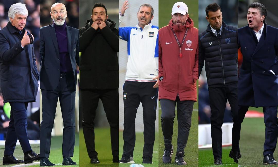 Serie A, allenatori: ecco le percentuali