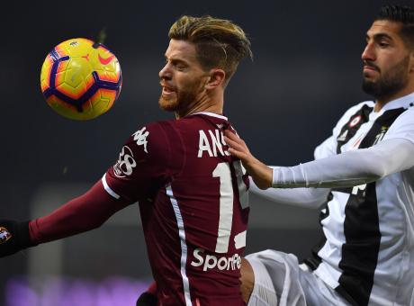 Torino, contro la Roma Ansaldi cambia ruolo