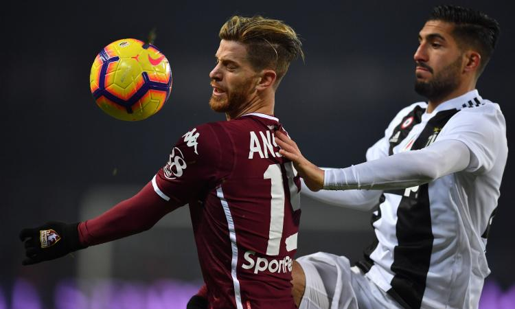 Torino-Lazio, le formazioni ufficiali: fuori Ansaldi e Rincon, ci sono Jordao e Immobile