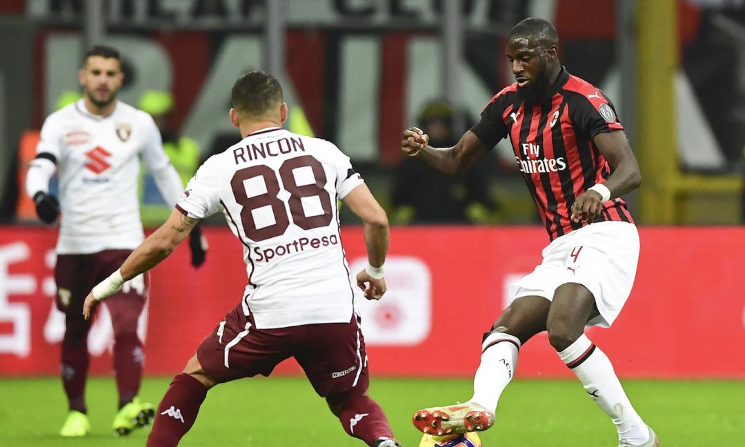 Milan fermo davanti a Toro seduto. Arriva Paquetà; Ibra...