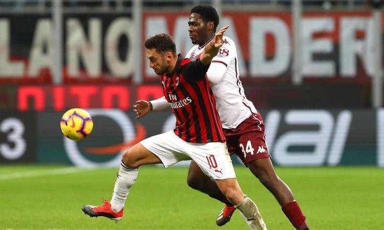 Milan-Torino, le pagelle di CM: caso Calhanoglu, Donnarumma prodigioso