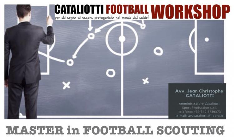 Master in Football Scouting (I livello col Parma calcio): 26-27 gennaio a Reggio Emilia!