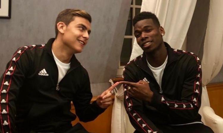 Dybala, messaggio a Pogba: 'Chiunque vorrebbe giocare con uno come lui'