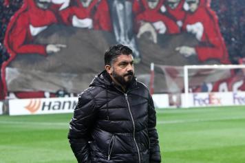 Gattuso Milan Olympiacos