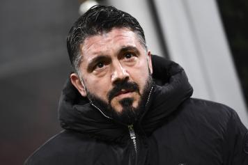 Gattuso infreddolito Milan