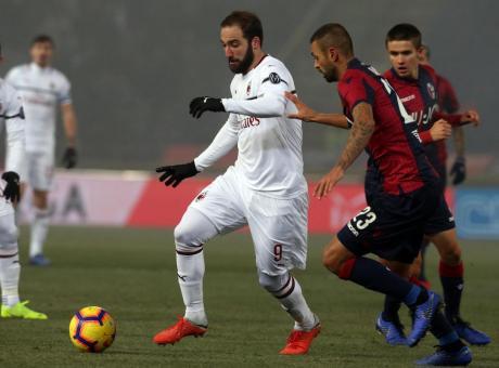 Higuain mediocre deprime il Milan