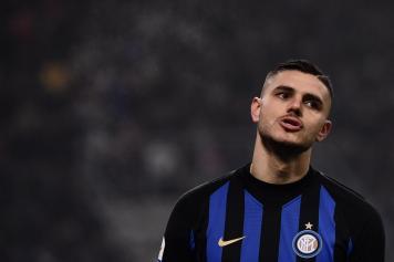 Icardi smorfia Inter