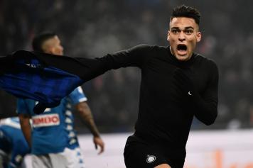 Lautaro Martinez Inter esultanza