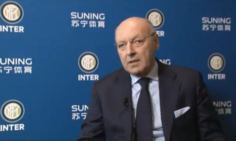 Inter, tripletta sul mercato per Marotta