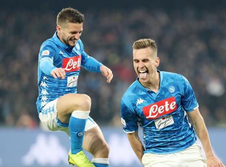 Napoli, le pagelle di CM: Mertens e Milik i migliori, Zielinski bocciato