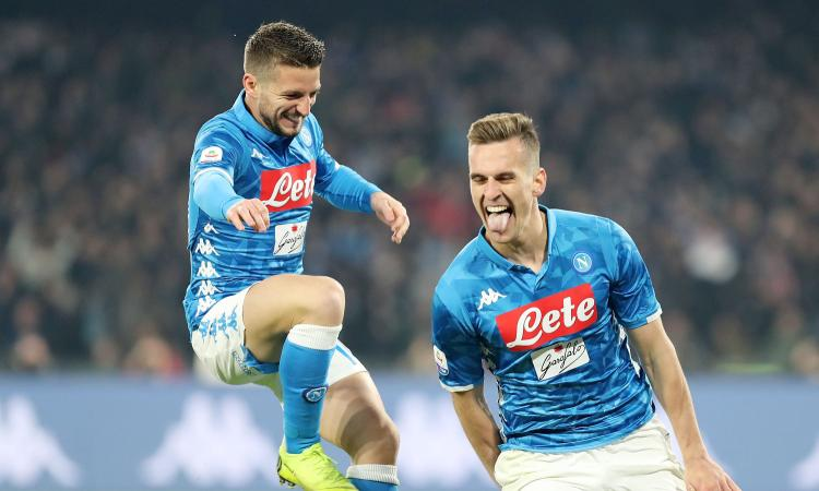 Napolimania: senza i gol di Mertens e Milik non si vince l'Europa League