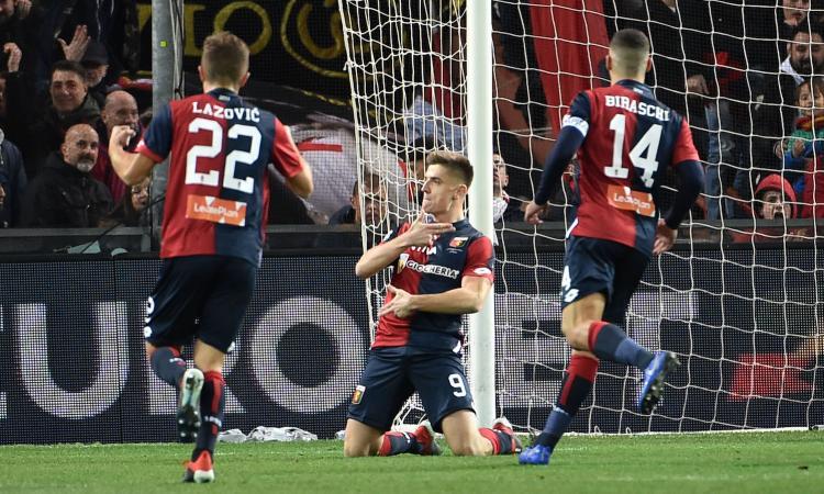 Genoa-Spal 1-1: il tabellino