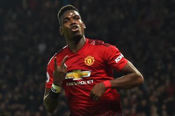 Pogba due esulta Manchester United