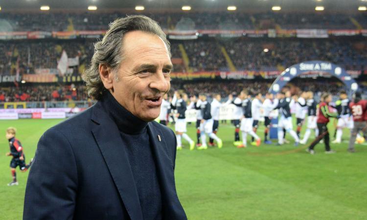 Genoa, Prandelli mischia le carte per sorprendere la Juve
