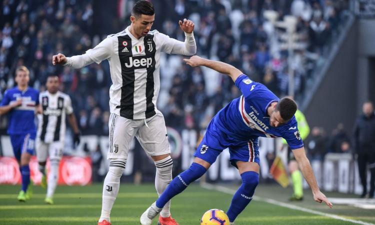 Samp, Sala: 'Ronaldo impressionante, in partita non dice una parola. Contento di essere apprezzato'