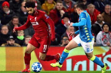 Salah Liverpool Mario Rui Napoli