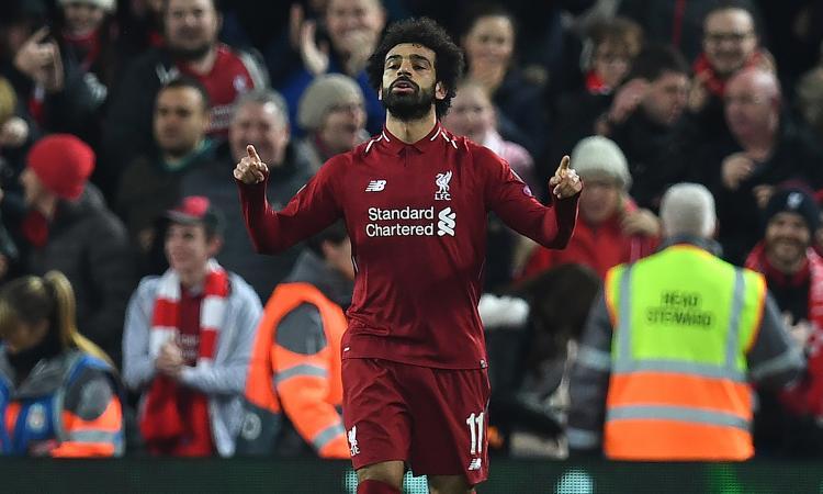 NAPOLI ELIMINATO: SARÀ EUROPA LEAGUE. 1-0 Liverpool, decide Salah