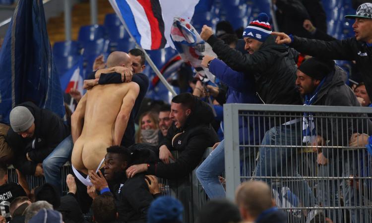 Samp, Saponara: 'I tifosi mi hanno sballottato le mutande'