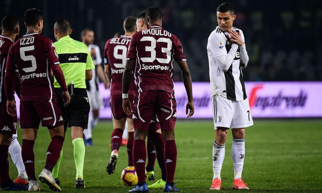 Il gesto di Ronaldo: non c'è da stare Allegri