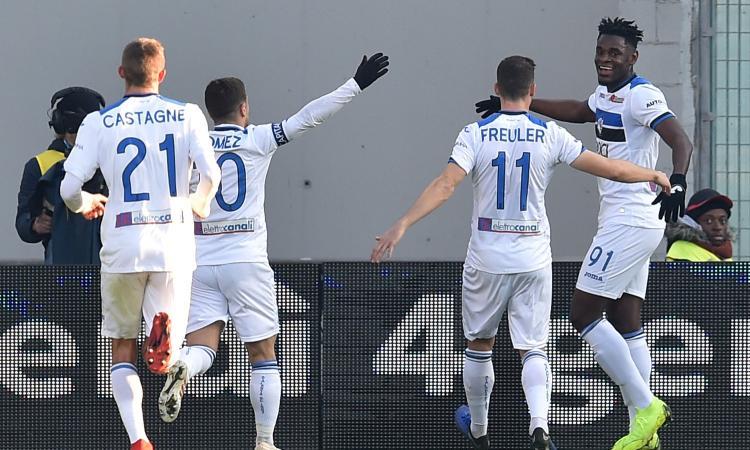 Cagliari-Atalanta 0-2: il tabellino