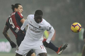 Zapata Milan testa Santander Bologna