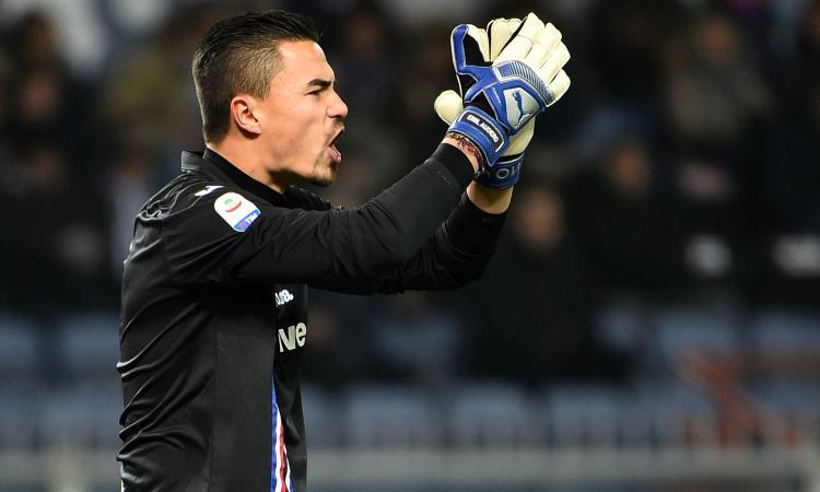 Sampdoria, l'Inter guarda anche ad Audero. La Juve...