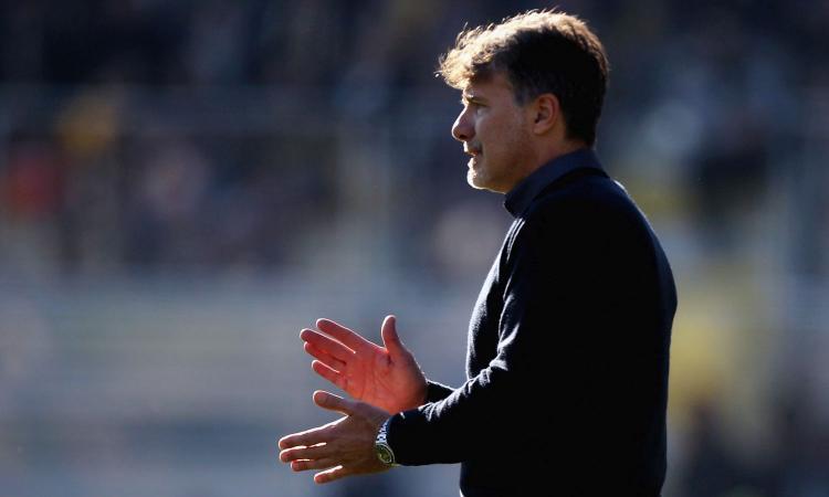 Frosinone, Baroni: 'Pinamonti in dubbio. Penalizzati dal Var con Lazio e Milan'