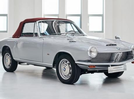 PIT STOP: BMW, l'unica 1600 GT Cabrio esistente torna a casa FOTOGALLERY