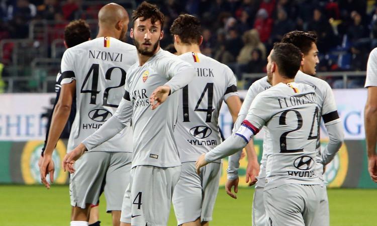 Cagliari-Roma 2-2: il tabellino