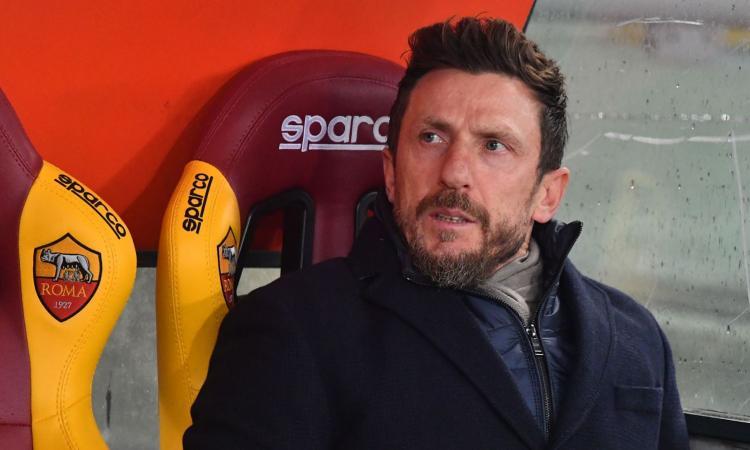 Roma, Di Francesco: 'Dzeko pronto, forse con Schick. Razzismo? Sto con Ancelotti' VIDEO