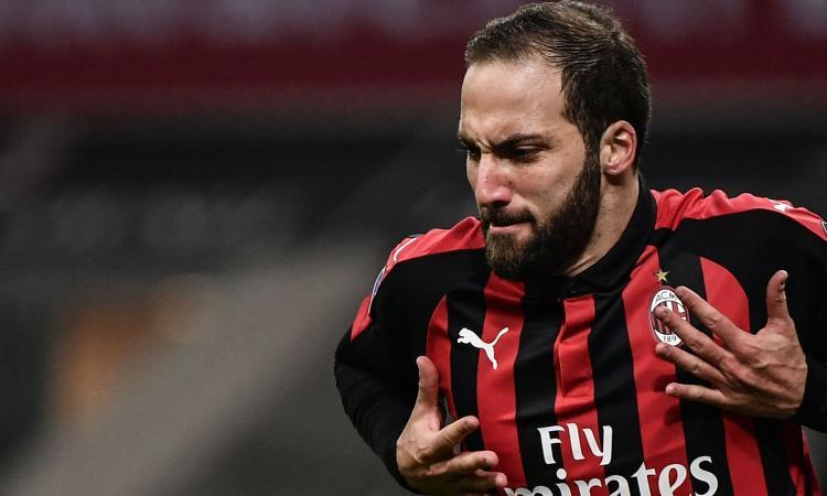 Milan, per Higuain gol e saluto?