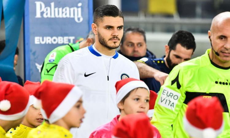 L'Inter non fa sconti, multa salata a Icardi per il ritardo in allenamento