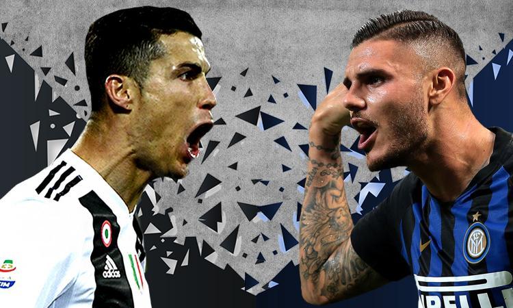 Juve-Inter è Ronaldo contro Icardi: numeri a confronto, chi è più decisivo?