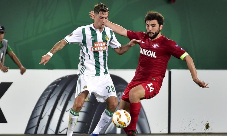 Inter, Rapid Vienna fermo da due mesi