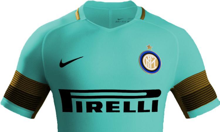 Inter, svelati i colori della maglia da trasferta 2019/20 FOTO