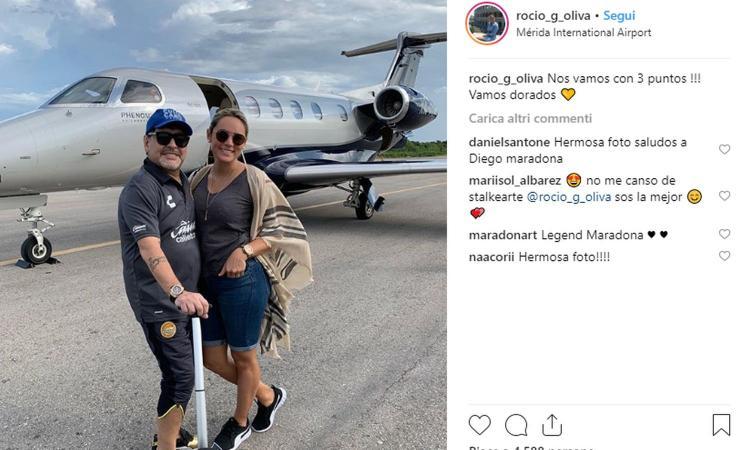 Maradona, doppia beffa: la fidanzata lo lascia e lo caccia dalla casa regalatale dal Pibe de Oro VIDEO
