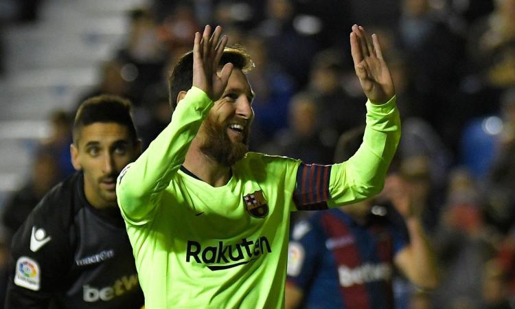 Messi è un alieno: media di 50 gol all'anno