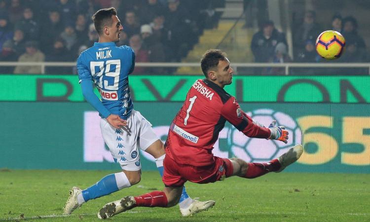Napoli, Ancelotti preme per il rinnovo di Milik