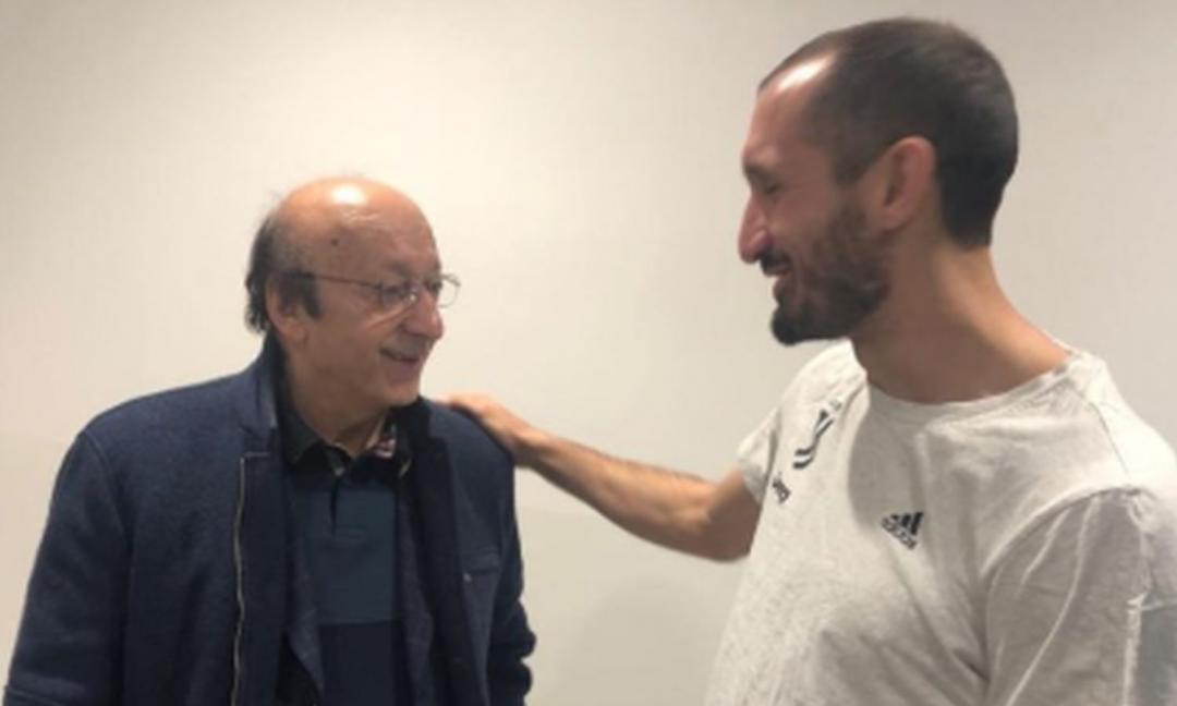 Juventus-Fiorentina: Chiellini al VAR?