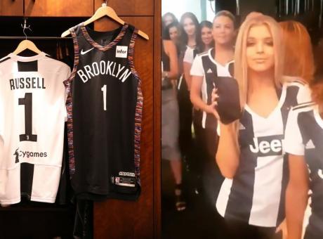 Juventus Night in Nba: cheerleders e giocatori in bianconero, tutte le FOTO! E i Nets tornano a vincere dopo 8 ko...
