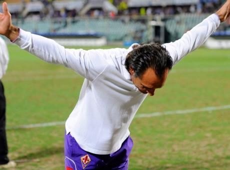 Anfield, Ovrebo, i gol di Toni: Prandelli, sarà dura giocare contro la Fiorentina
