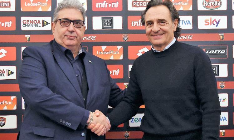 Genoa, ecco Prandelli: 'Ho detto no a tante offerte, ma Preziosi mi ha emozionato'