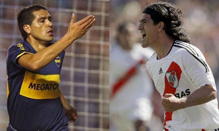 Aimar, Ortega, Riquelme & co: i 10 giocatori più forti di River e Boca