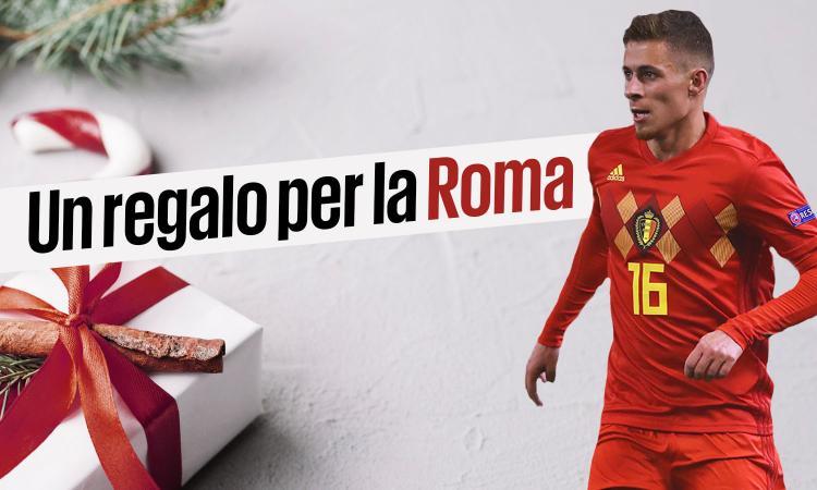 Roma, per Natale il talento Hazard