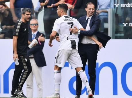 Allegri ascolti Zidane: Ronaldo è una macchina, ma non può dribblare l'età