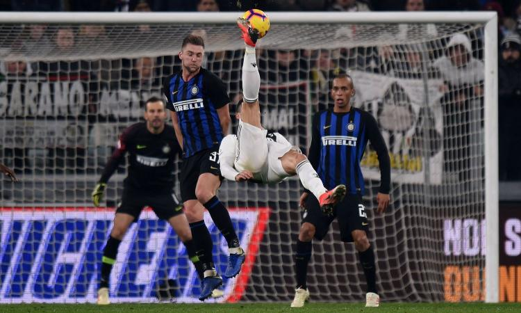 Juventus-Inter 1-0: il tabellino