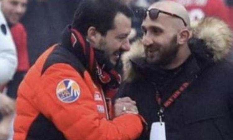 Sequestrati beni per un milione di euro a Lucci, capo ultrà del Milan